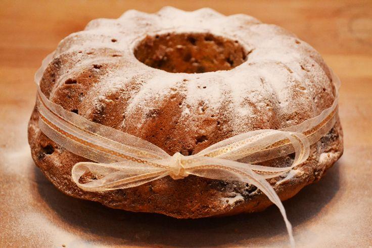 Feestelijke tulband cake met Cuarenta y Tres ( of gebruik favoriete likeur)