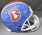 Orange Crush Signed/Autographed Multisigned Denver Broncos TB FS Helmet JSA