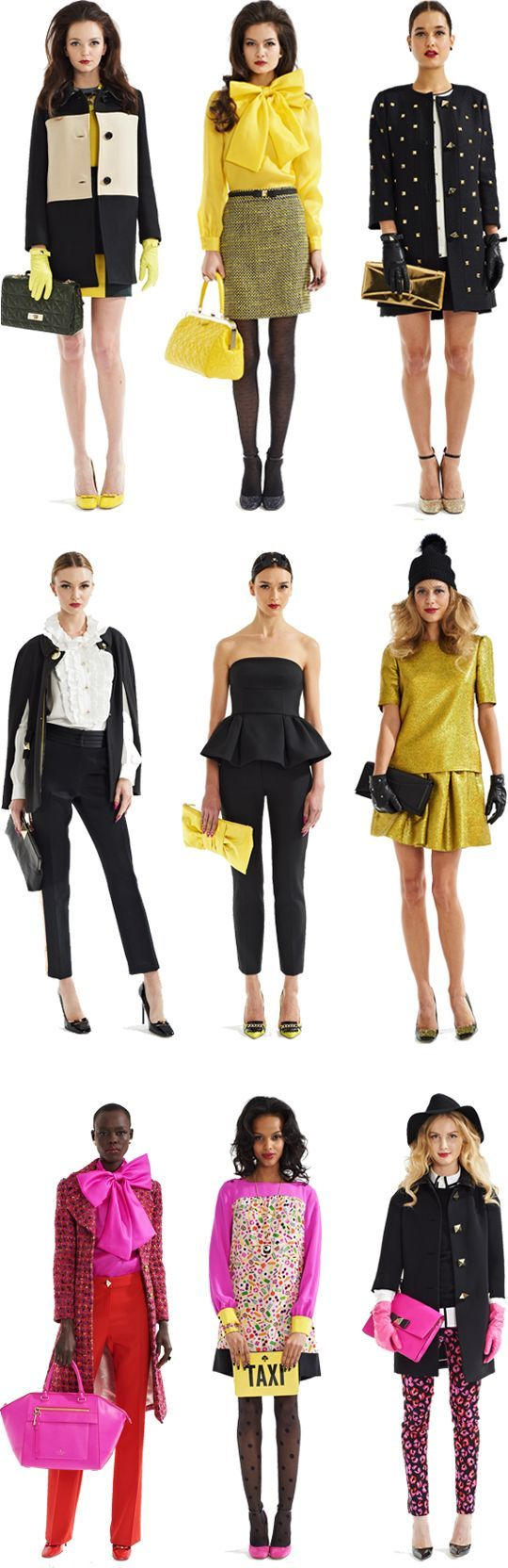 Kate Spade New York Fall 2013. So fab! @Micaela Burke I hope you were sitting down when you saw this! <3