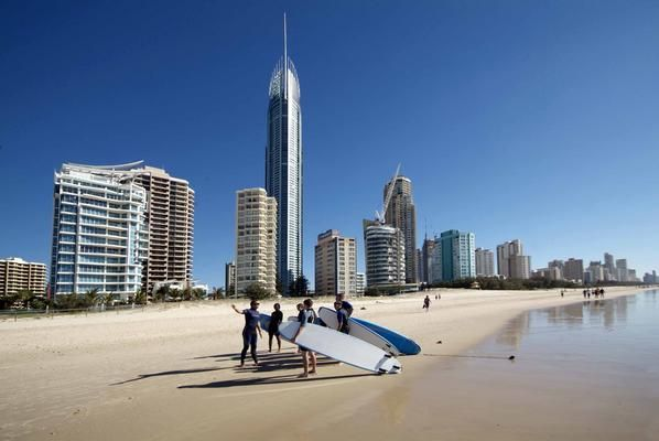 Surfers Paradise (with Q1 in the background), Gold Coast Australia... My place of memories :))