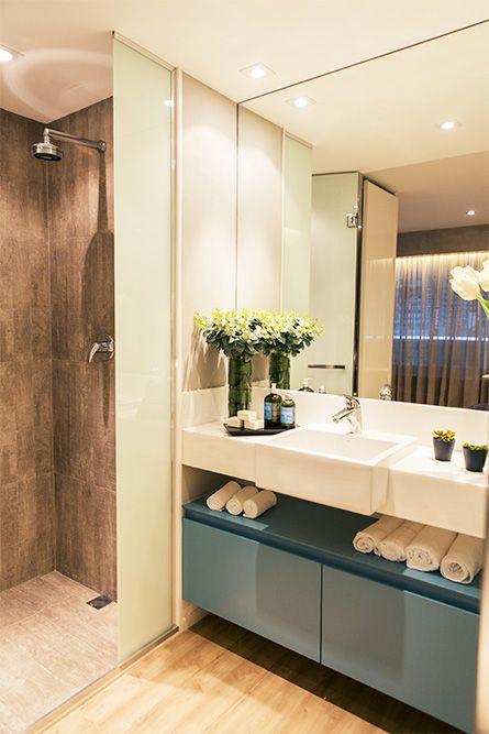 +1000 ideias sobre Reforma De Espelho De Banheiro no Pinterest  Grandes Espe -> Decoracao De Banheiros Sociais