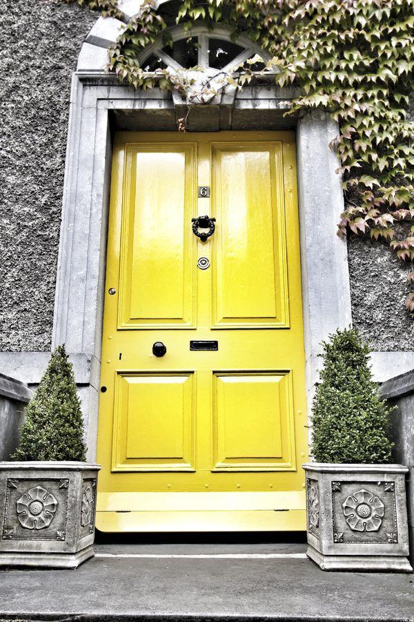 102 Best Yellow Front Doors Images On Pinterest French Doors