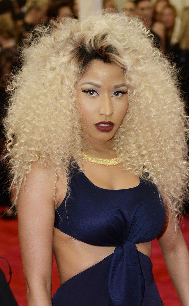 Nicki Minaj From Met Gala 2013 Punk Hair People