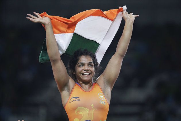 Sakshi Malik Becomes The First Indian Woman To Win An Olympic Medal In Wrestling