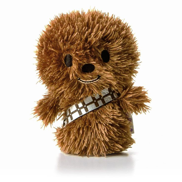itty bittys® CHEWBACCA™ Stuffed Animal.  He's the perfect size for mini adventures.  $6.95