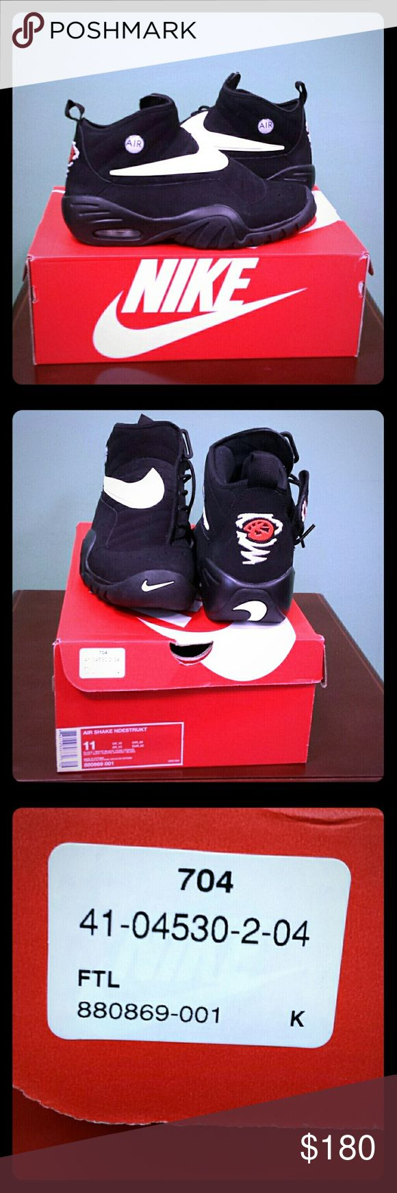 Nike Air Shake Ndestrukt Size 11, by Dennis Rodman NWOT. Never worn Nike Shoes Athletic Shoes