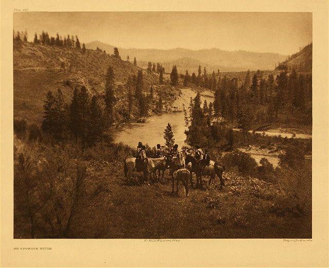 Spokeane River - 1910