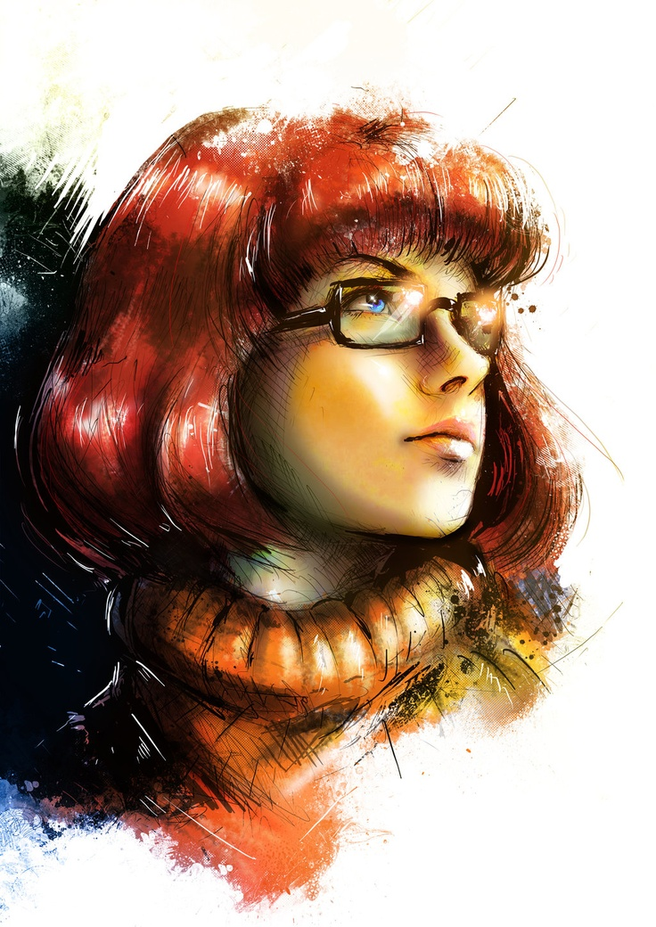 Velma...because people often say I look like Velma and she actually looks attractive.