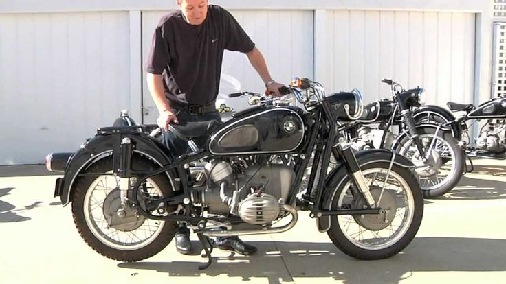Vintage BMW Motorcycle Collection