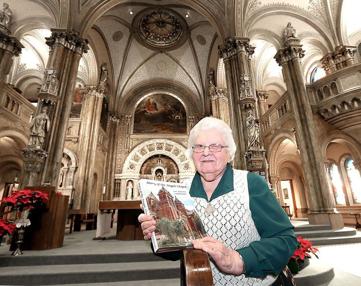 """""""Every inch of this place is special,"""" Sister Malinda said. """"The windows are to stained glass as Stradivarius is to violins.""""She's referring to Mary of the Angels Chapel in La Crosse, Wisconsin. The chapel is located inside the congregation's motherhouse, St. Rose Convent. #Chapel #Historic"""
