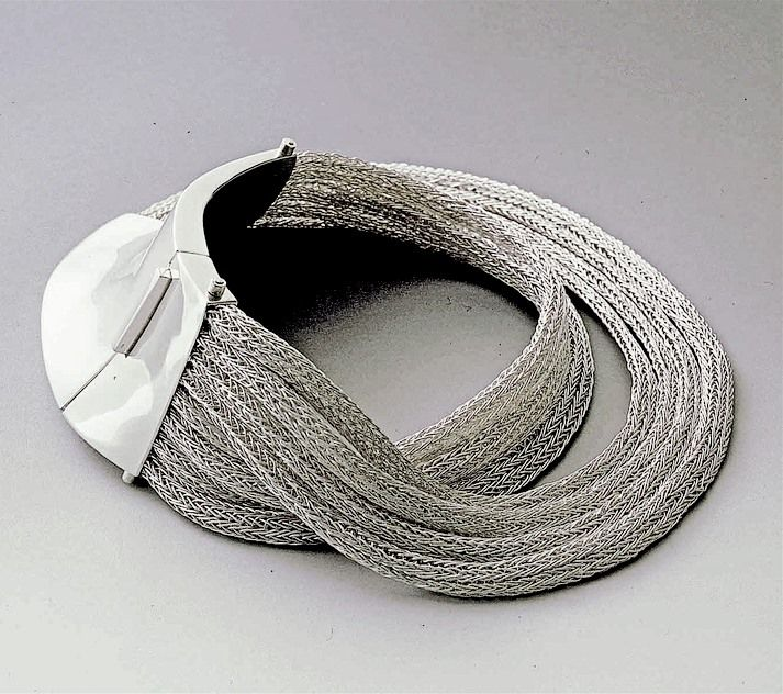 """The Queen""necklace, sterling silver  