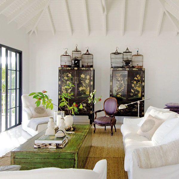 decorar con muebles chinosarmarios negros salon #livingarea #decor #