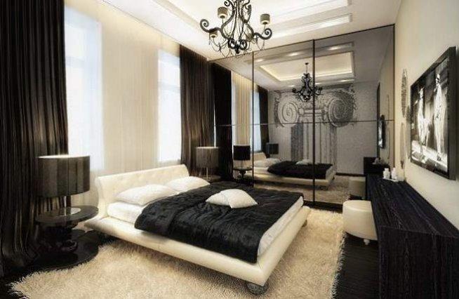 Znalezione obrazy dla zapytania sypialnia glamour