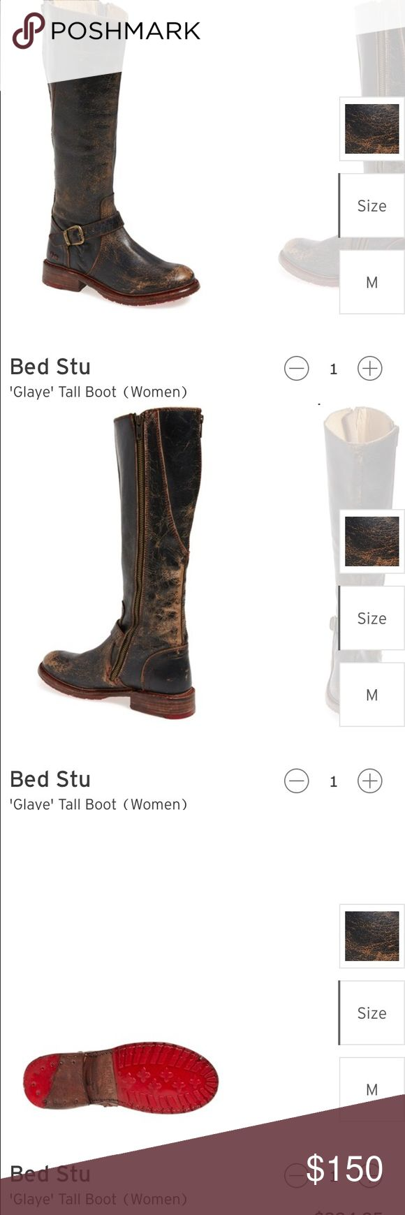 """Bed Stu """"Gayle"""" boot Beautifully crafted Bed Stu boot.  So comfortable and stylish.  Size 8.5, but runs big.  Worn twice.  No flaws Bed Stu Shoes Winter & Rain Boots"""