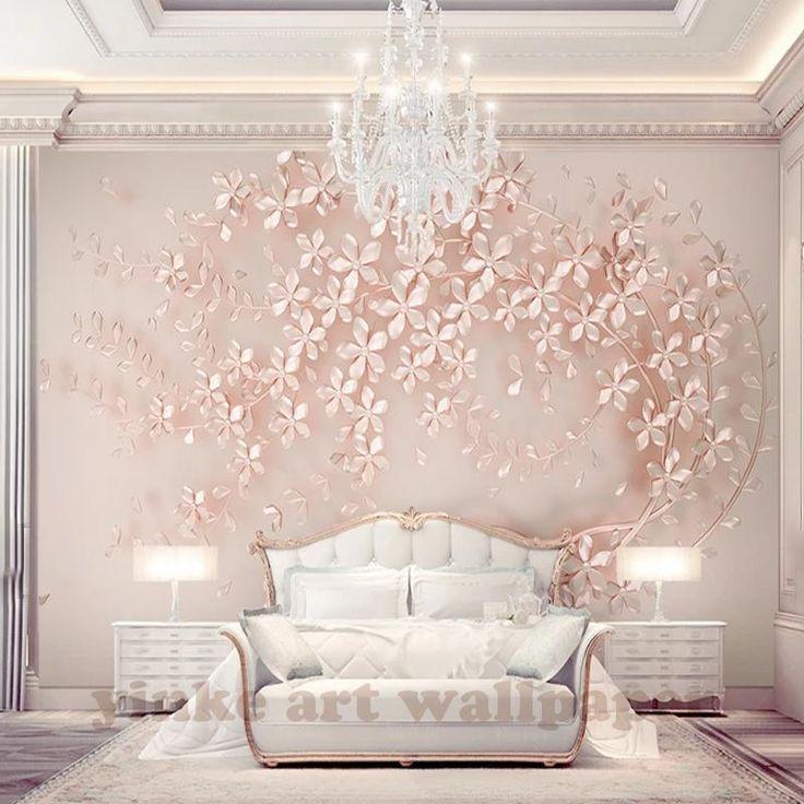 Rose gold 3D wallpaper