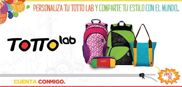 Personaliza tu #morral en www.tottolab.com #TottoLab #Totto