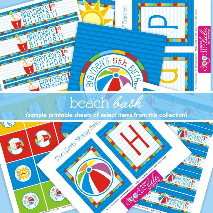 Best 25+ Swim Party Decorations Ideas On Pinterest
