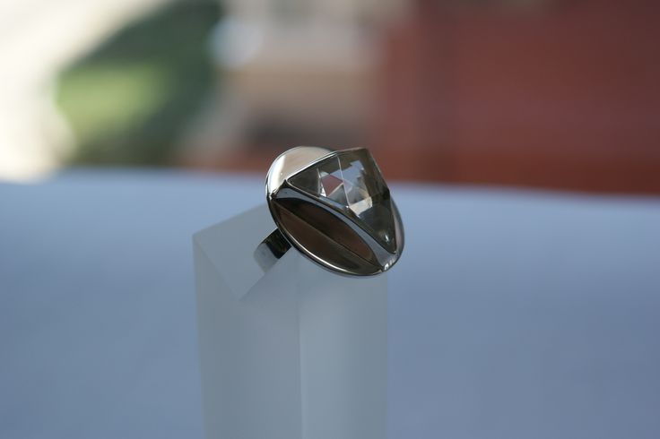 sterling Silver and cuartz ring
