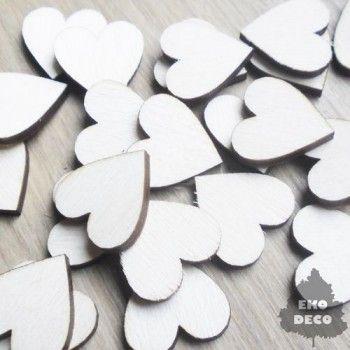 Scrapki w kształcie serca  SD05 - 10 szt
