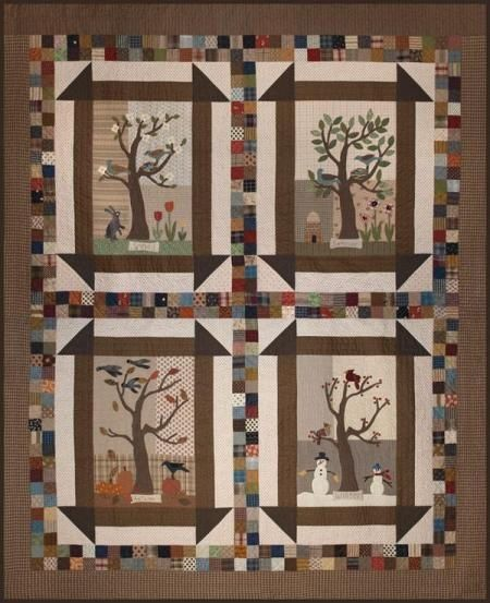 17 Best Images About Four Seasons Quilts On Pinterest