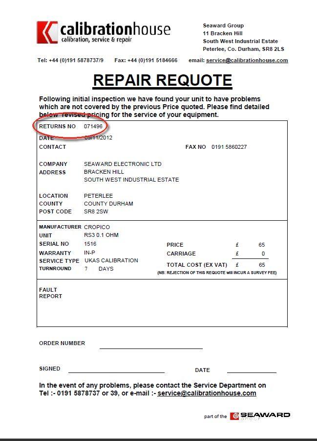 Quote For Home Repairs Example Credit Repair Secrets Exposed Here