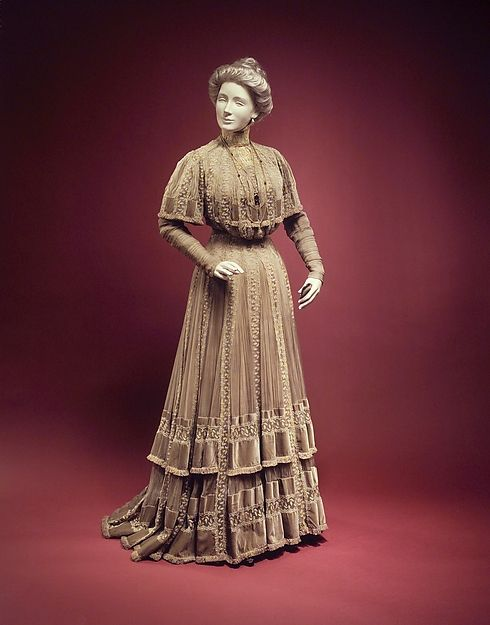 Afternoon Dress Jacques Doucet, 1903 The Metropolitan Museum of Art
