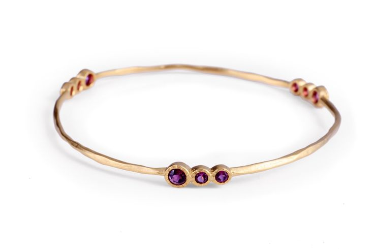 A personal favourite from my Etsy shop. Pink sapphire bangle. Designer Jewellery https://www.etsy.com/au/listing/244391847/pink-sapphire-bangle