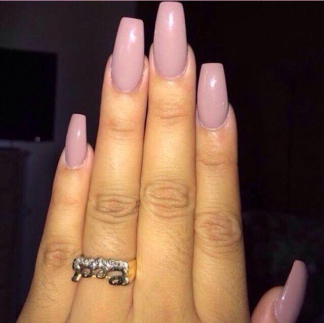 Mauve nails | * NAILED...