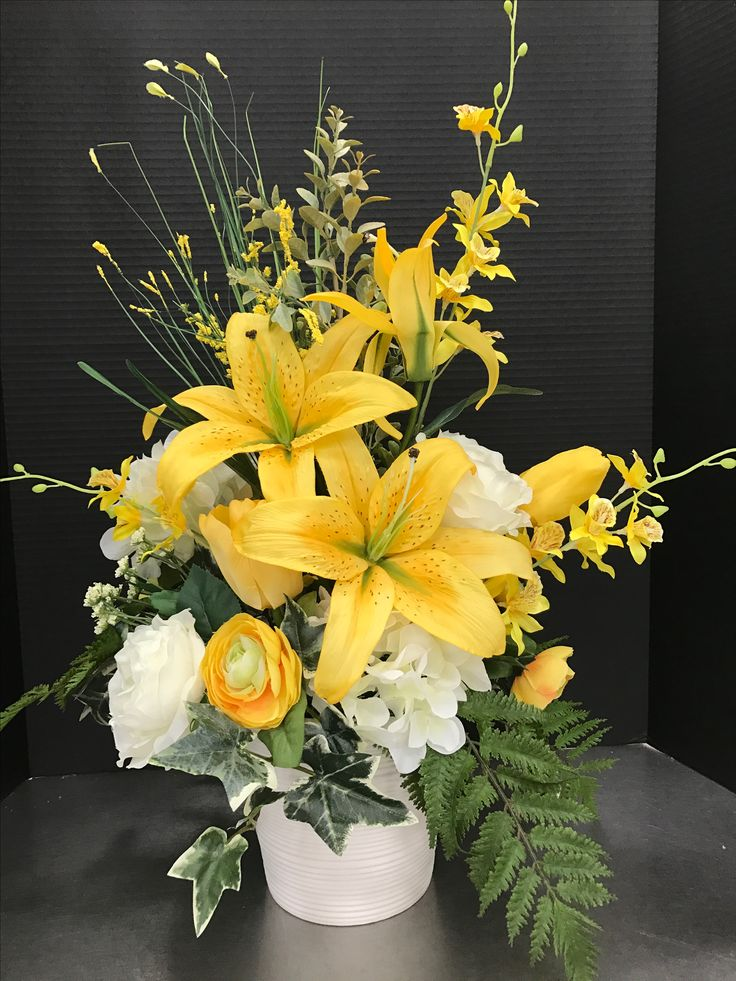 Tall Large SPRING DECOR CENTERPIECE Silk by EverythingFloral |Large Spring Floral Arrangements