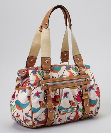 Another great find on #zulily! Tweety Twig Triple Section Satchel by Lily Bloom #zulilyfinds