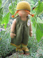sweet waldorf doll