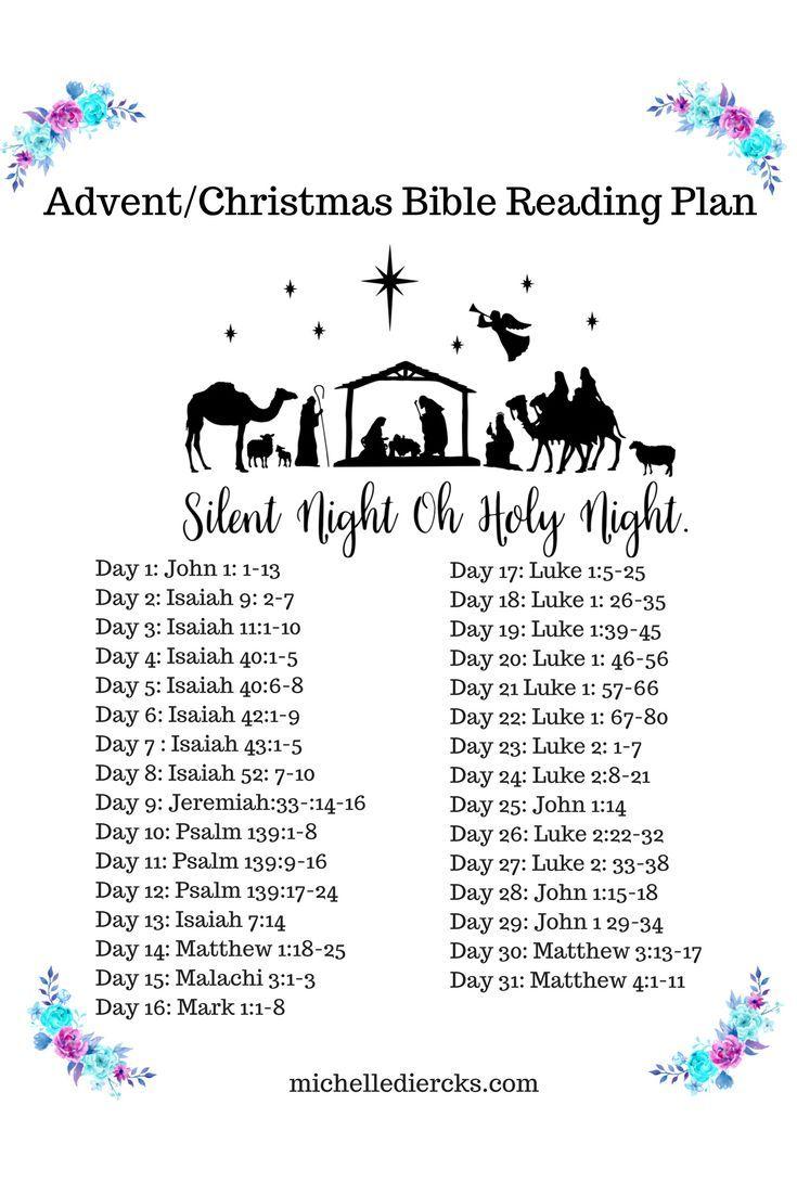 Advent/Christmas Bible Reading Plan, Christian Women's Devotional, Bible Reading Plan, Audio Devotionals #Advent #Bible #ChristianWomen