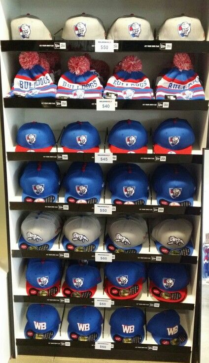 2015 Western Bulldogs New Era Cap Range! 59Fifty fitted, 9Fifty Snapbacks and Youths styles available in store! New Era Beanies available this season too! #bemorebulldog
