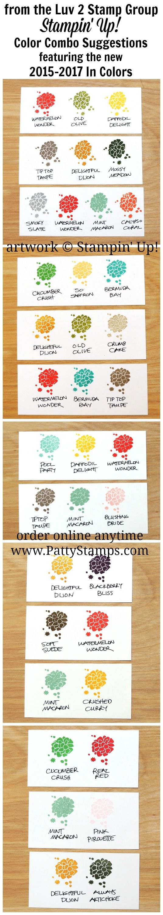 Need a New Color Combo!? Try the In Colors!