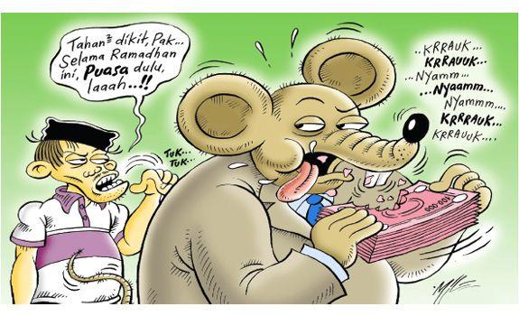 Mice Cartoon, Rakyat Merdeka - Juni 2016: Cuti Korupsi