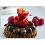 Recipe: Chocolate genoa cake with creamy chocolate and berries