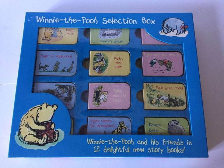 Winnie the Pooh Mini Book Collection Set of 12 Toys Kids    eBay