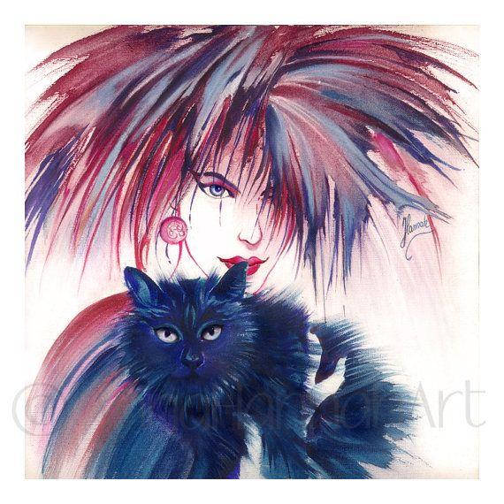 """The Blue Cat"""