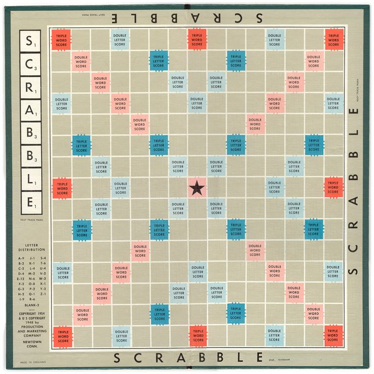 National Scrabble Day;  April 13                                                                                                                                                      Más                                                                                                                                                                                 More