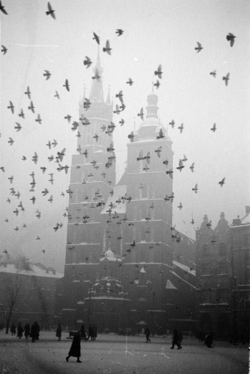 Henryk Hermanowicz: Krakow, 1950s