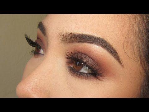 Warm Brown Smokey Eye | Kat Von D Shade and Light Eye Palette