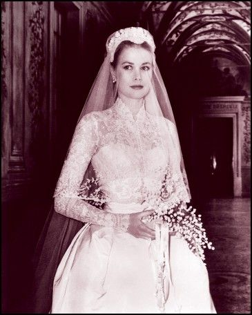 Grace Kelly Civil Wedding Dress
