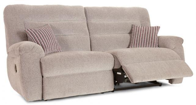 La-Z-Boy Avenue 3 Seater Manual Recliner Sofa | ScS Sofas