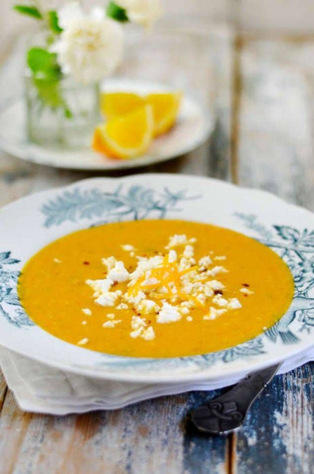 Morotssoppa med apelsin - Mitt kök