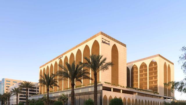 Hoteles en Riad, la capital y el principal centro de negocios de Arabia Saudí, se encuentra en la zona central del país, sobre una meseta del desierto.