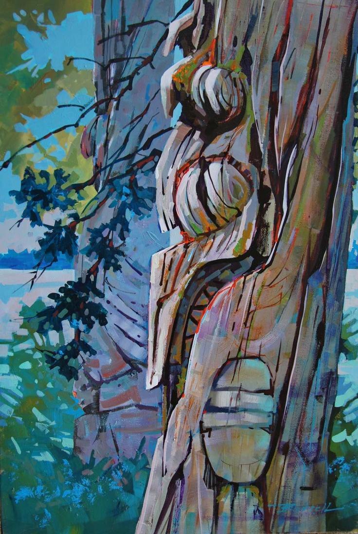 Weathered Haida Gwaii by Brain Buckrell