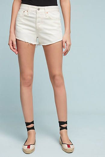 Levi's Wedgie High-Rise Shorts