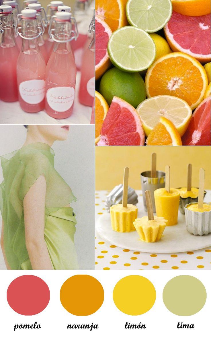 colour pallete: citrics