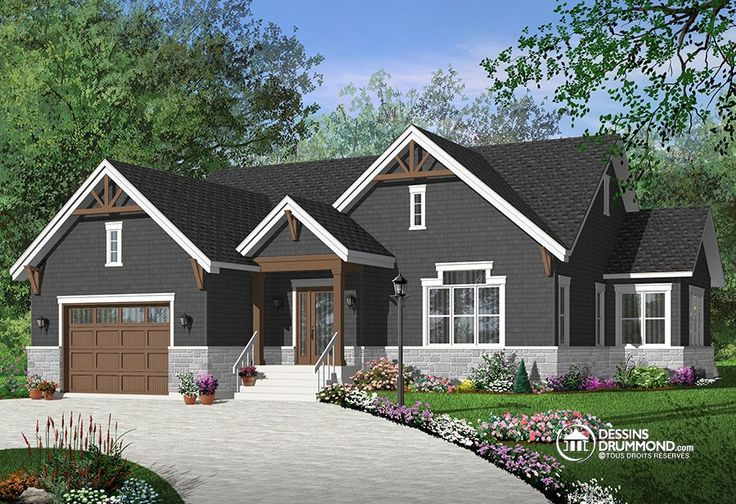 Détail du plan de Maison unifamiliale W3260-V3