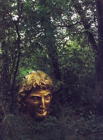 ..:: Temple of Light ::..Little Sparta Garden - detail - Ian Hamilton Finlay